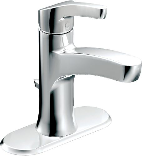 Robinet de lavabo Moen Danika, 1 levier, chromé Image de l'article