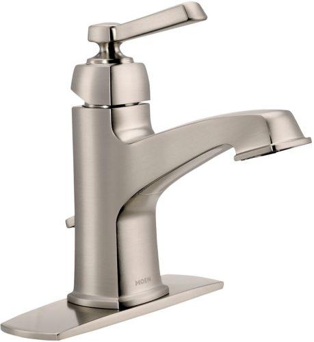 Moen Boardwalk 1-Handle Spot Resist Lavatory Faucet ...