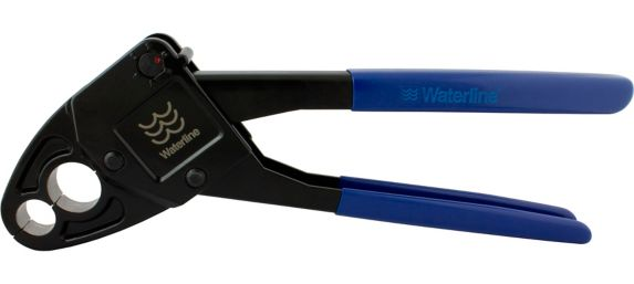 Dependable PEX Combo Angle Crimp Tool, 1/2 & 3/4-in Product image