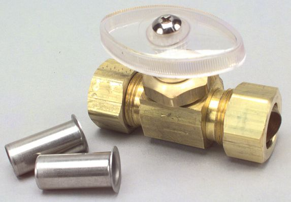 Plumbshop PEX Straight Valve, 5/8-in x 5/8-in Product image