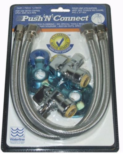 Push'N'Connect Faucet Hook-up Kit Product image