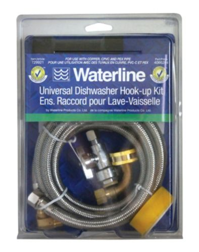 Waterline Push'N'Connect Dishwasher Installation Kit Product image