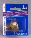 PlumbShop Hose Adapter, 3/4-in Female Hose x 3/4-in Male Hose  | PlumbShopnull