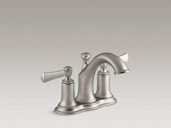 Kohler Elliston 2-Handle Lavatory Faucet, Brushed Nickel Product image