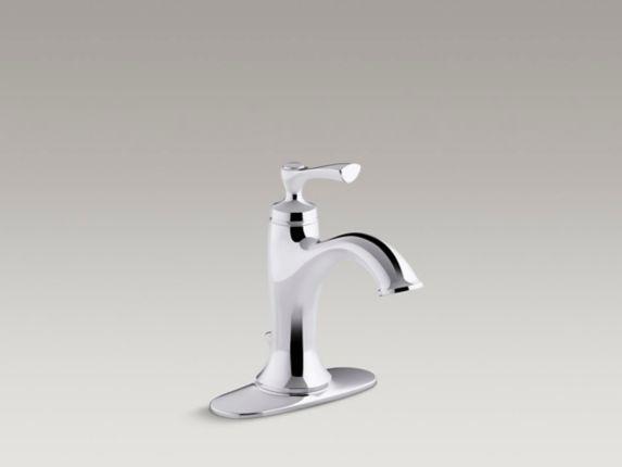 Robinet de lavabo Kohler Elliston, 1 levier, chrome Image de l'article