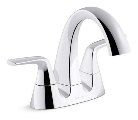 Robinet de lavabo à 2 leviers Kohler Elmbrook, chrome Image de l'article
