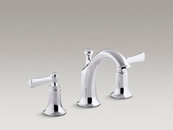 Kohler Elliston 2-Handle Widespread Lavatory Faucet, Chrome Product image