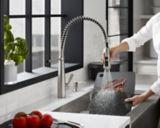 Kohler Simplice Semi-Professional 1-Handle Kitchen Faucet, Stainless Steel | Kohlernull