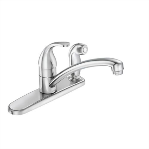 Moen Adler 1-Handle Kitchen Faucet with Spray, Chrome Product image