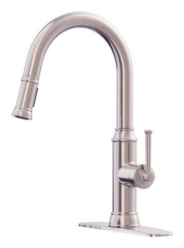 Danze Cavell 1-Handle Pull-Down Kitchen Faucet, Stainless Steel Product image