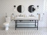 Robinet de lavabo Pfister Breckenridge, 1 levier, noir | Pfisternull