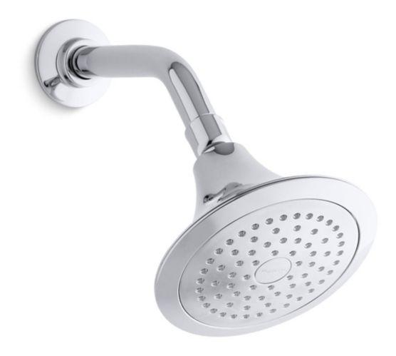 Kohler Forté Single-Function Katalyst Shower Head, Chrome Product image
