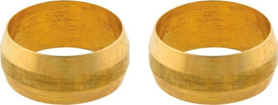 Plumbshop Brass Compression Sleeves, 1/2-in Product image