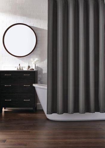 Rideau de douche en tissu CANVAS, anthracite Image de l'article