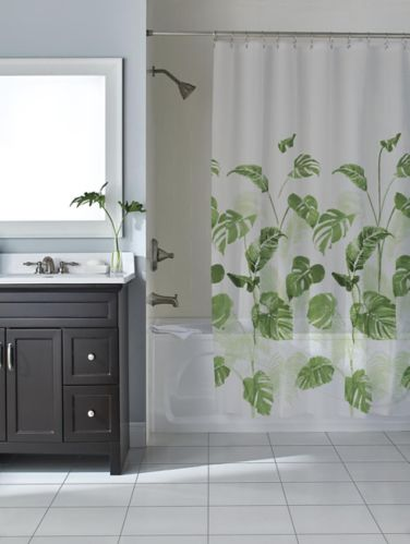 For Living Botanical Shower Curtain Product image