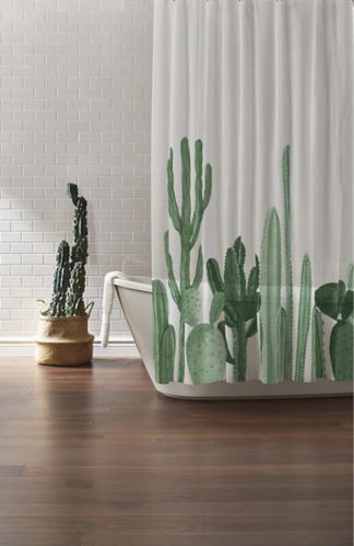 Rideau de douche CANVAS, cactus Image de l'article