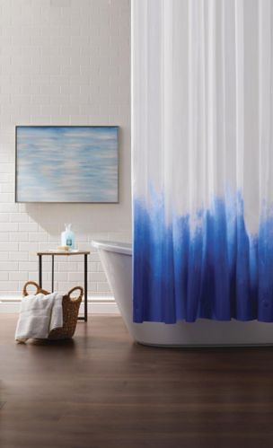 CANVAS Ombre Shower Curtain Product image