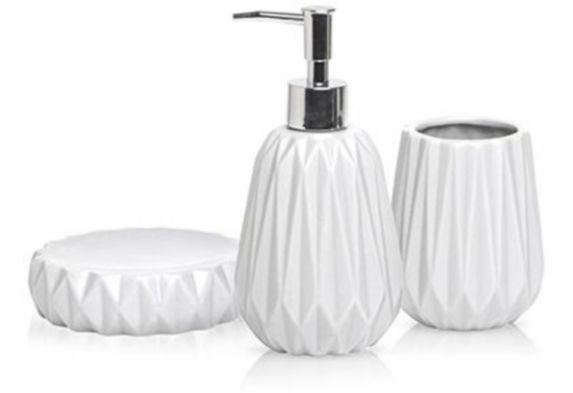 Harman Ceramic Bathroom Counter Top Set, 3-pc Product image