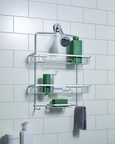 type A Oversized Aluminum Bath Caddy Product image