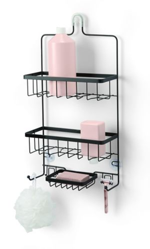 type A Wire Bath Caddy, Black Product image