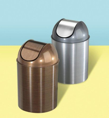 Umbra Mezzo Bronze Waste Can, 10-L Product image