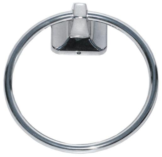 Weston Towel Ring, Chrome Product image