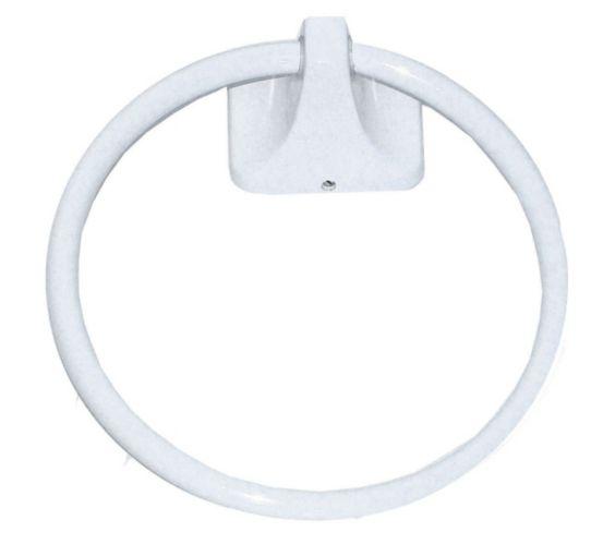 Weston Towel Ring, White Product image
