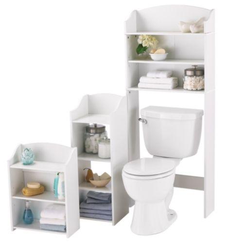 Tablettes pour salle de bain Likewise, 3pces Image de l'article