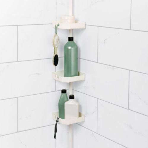 Range-accessoires sur montant à tension, 3 tablettes Image de l'article