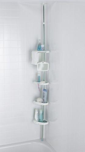 Range-accessoires de douche sur montant à tension de qualité supérieure Image de l'article