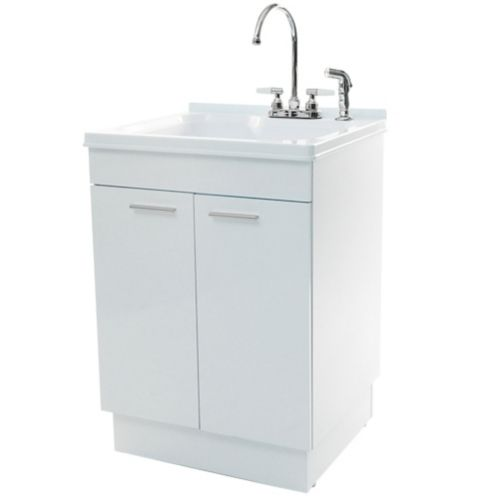 Cabinet Laundry Tub with Faucet Product image