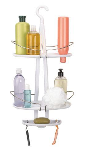 Umbra Dazzle Shower Caddy, White Product image
