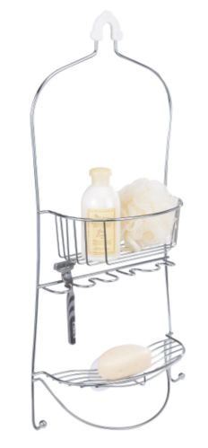 For Living Chrome Shower Caddy Product image
