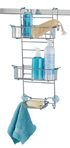 Range-accessoires pour porte de douche For Living, chromé Image de l'article