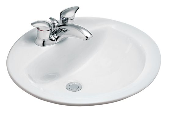 Ceralux Oval Drop-in Sink Product image