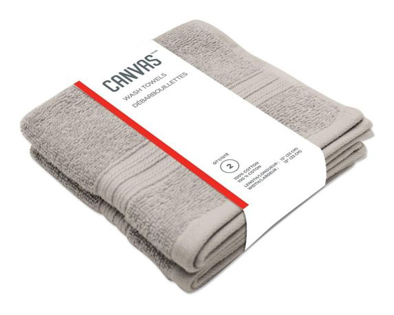 CANVAS Performance Wash Towels, 2-pk Product image