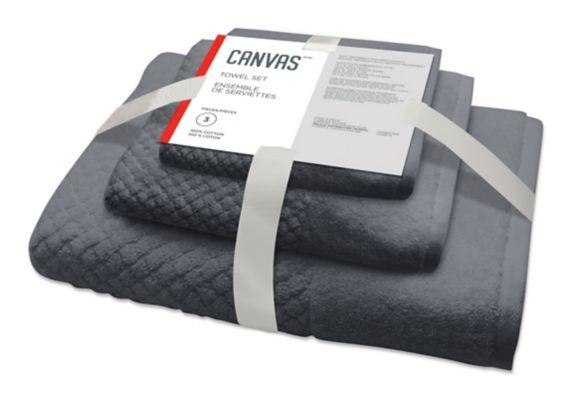 CANVAS Cotton Towel Set, 3-pc Product image