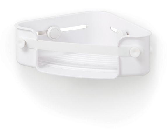 Umbra Flex Gel-Lock Corner Shower Caddy, White Product image