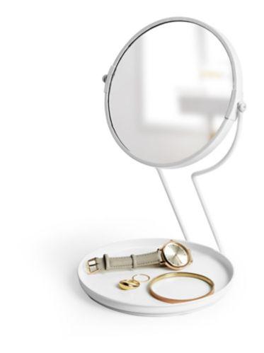 Umbra See Me Vanity Mirror, White Product image