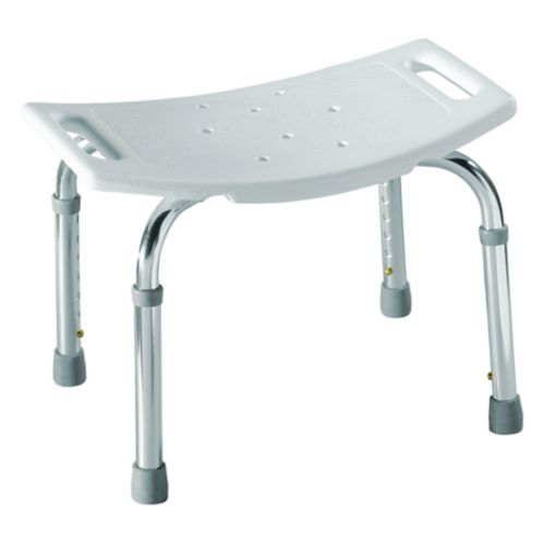 Moen Adjustable Tub & Shower Seat, White Product image