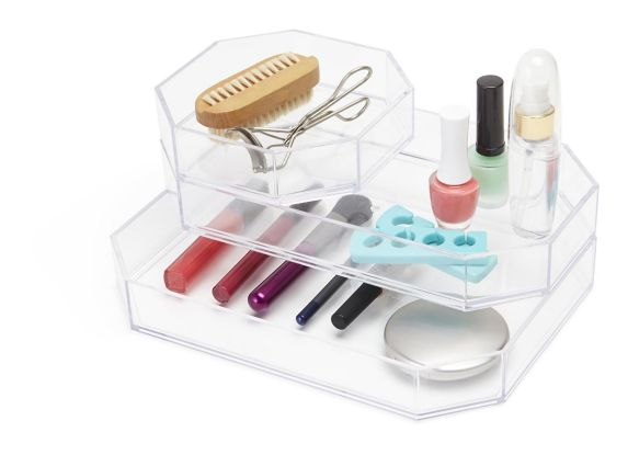 Umbra Gem Acrylic Small Tray, Clear Product image