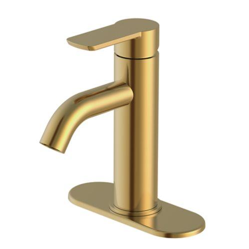 Robinet de lavabo à 1 poignée Danze Crete, bronze brossé Image de l'article