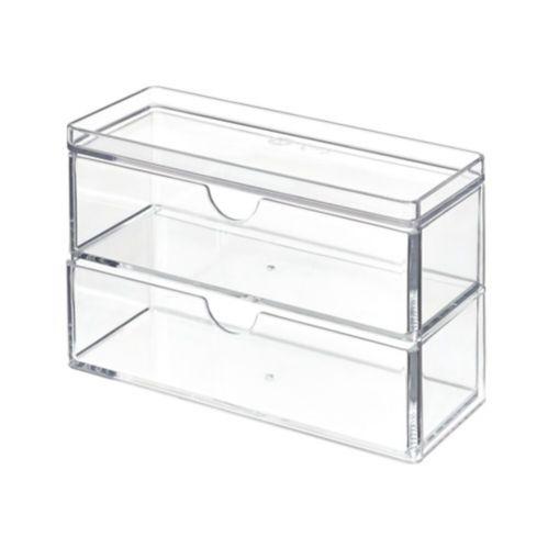 Mini range-tout à 2 tiroirs The Home Edit par iDESIGN Image de l'article