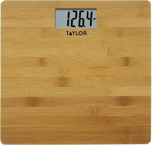 Pèse-personne numérique de salle de bain Taylor, bambou Image de l'article