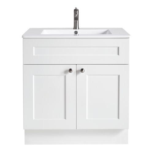 Meuble-lavabo CANVAS Milford, 2 portes, 30 po Image de l'article