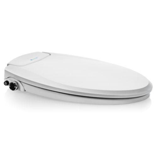 Siège de bidet allongé non électrique à température ambiante Brondell Swash Ecoseat, blanc Image de l'article