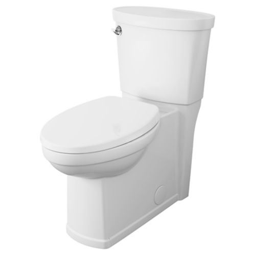American Standard Decor Right Height Elongated Toilet, White, 4.8-L Product image