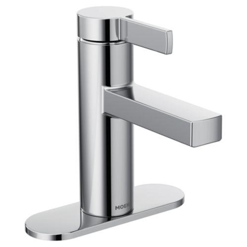Robinet de lavabo Moen Beric à 1 manette, chromé Image de l'article