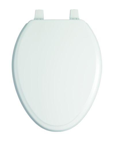 Siège de toilette allongé à fermeture lente Kohler Ridgewood, blanc Image de l'article