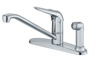 Danze Melrose Series 1 Handle Kitchen Faucet With Spray 8 In Canadian Tire